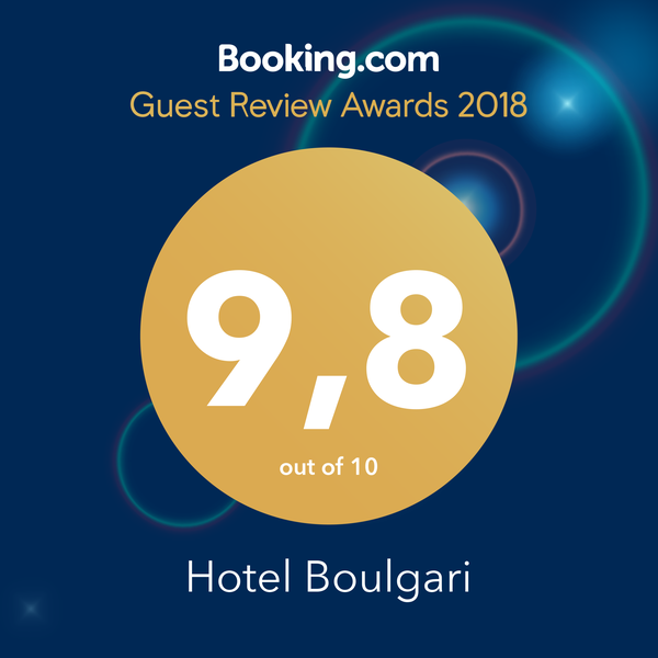 Hotel Boulgari Ioannina - Review on Booking.com